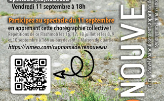 (Re)Nouveau flashmob web